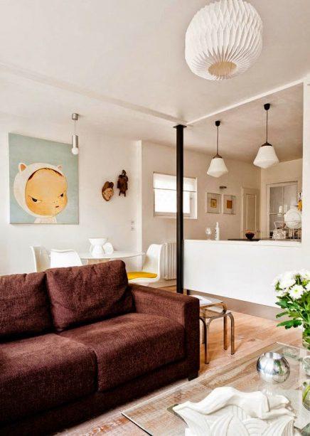 Vintage woonkamer van elodie inrichting for Vintage woonkamer