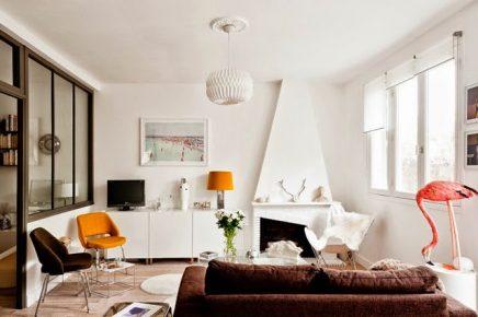 Vintage woonkamer van Elodie