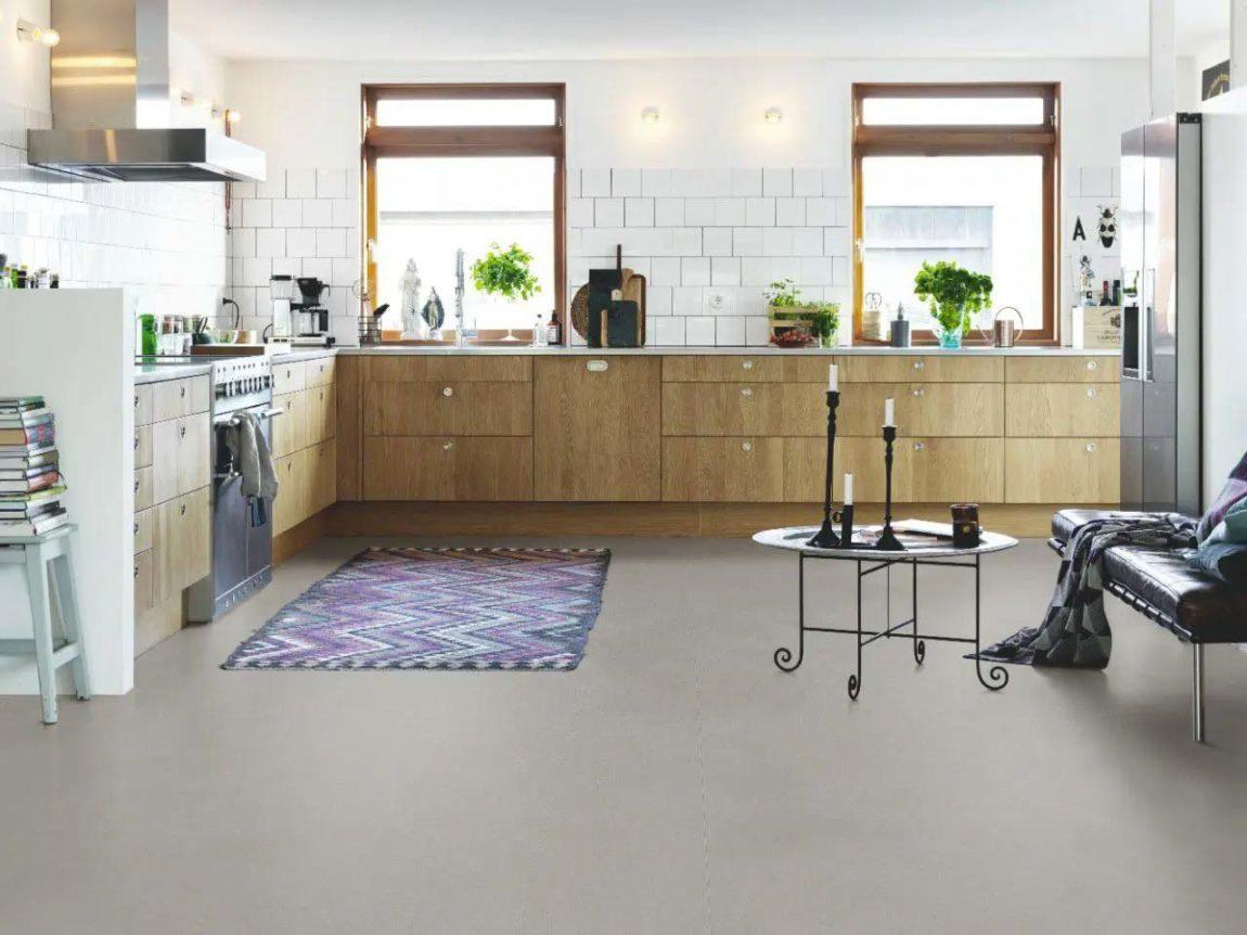 vinyl vloer betonlook