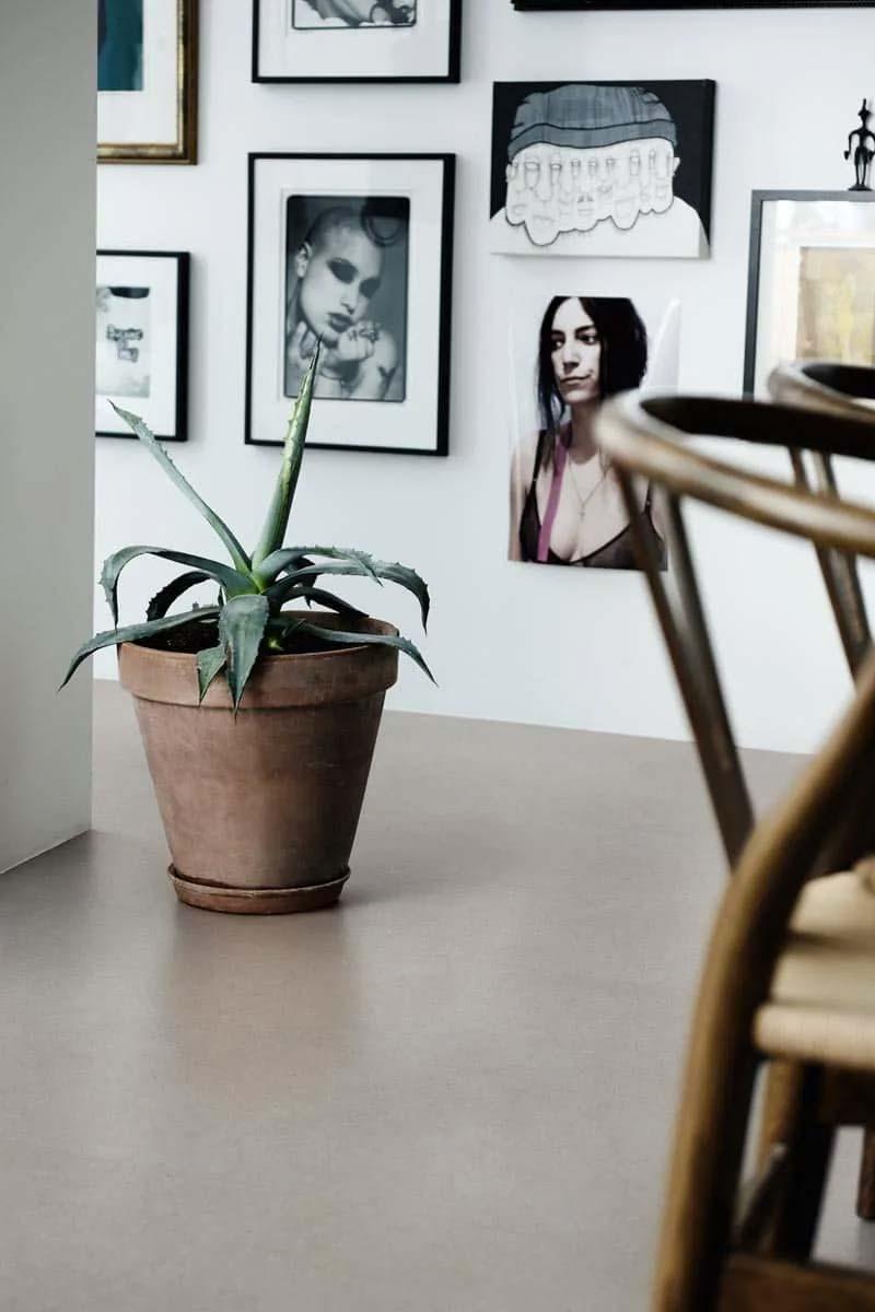 vinyl vloer betonlook modern mineraalgrijs