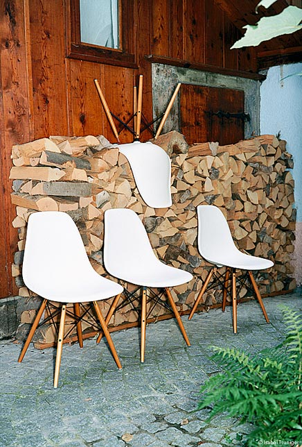 Vitra stoelen inrichting for Replica sedie design
