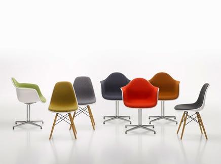 Vitra stoelen inrichting for Replica vitra eames