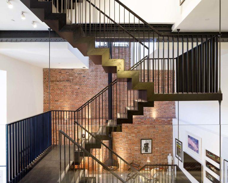 Voormalige brouwerij in het centrum van Londen verbouwd tot indrukwekkend woonhuis