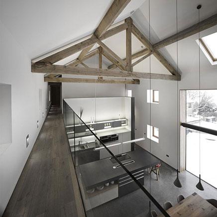Voormalige boerderij verbouwd met een modern tintje inrichting - Bijvoorbeeld huis modern ...