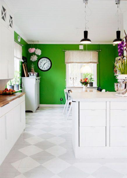 Vrolijke keuken van Sophia