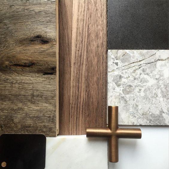 walnoot hout marmer goud