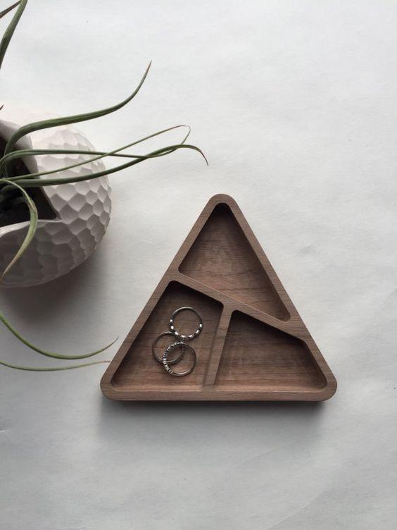 walnoot houten bakje