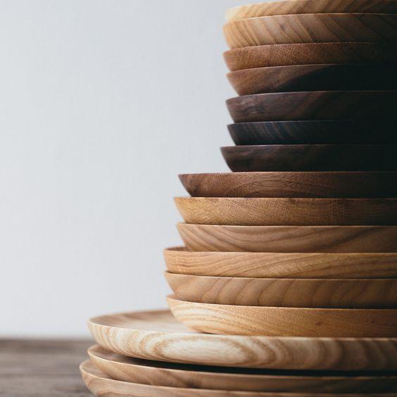 walnoot houten borden