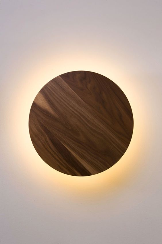walnoot houten lamp