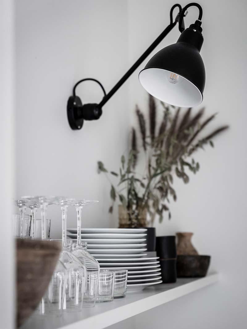 wandlamp keuken