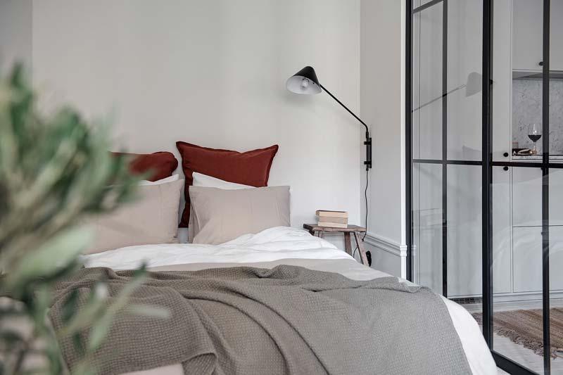 wandlamp slaapkamer wit