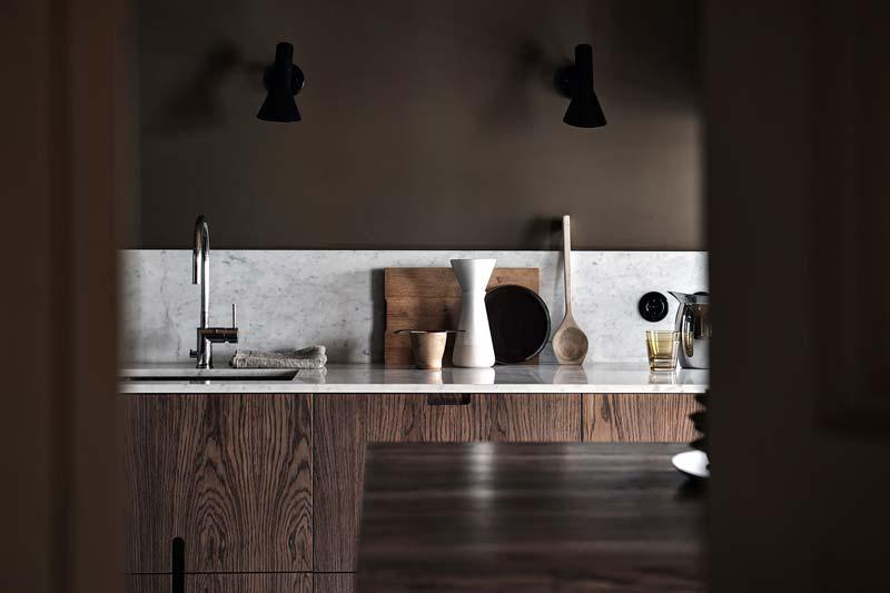 wandlampen aan keuken achterwand