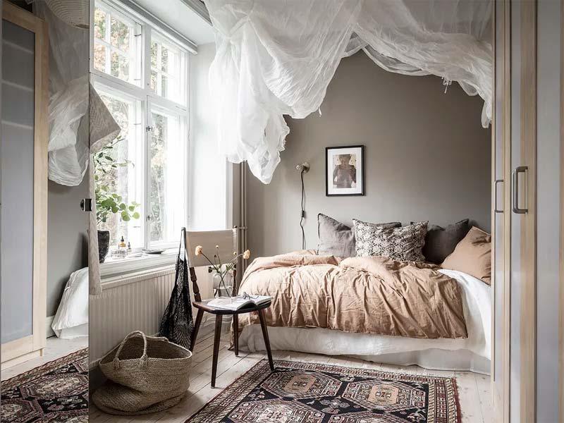 warme slaapkamer kleuren