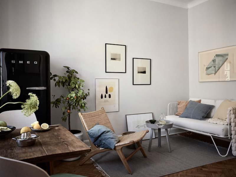 warme taupe grijze muren