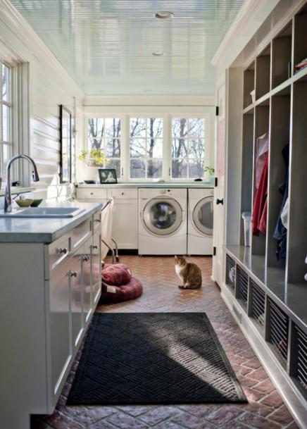 Washok met garderobekast