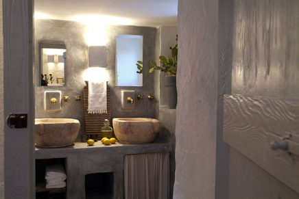 Waskommen badkamer