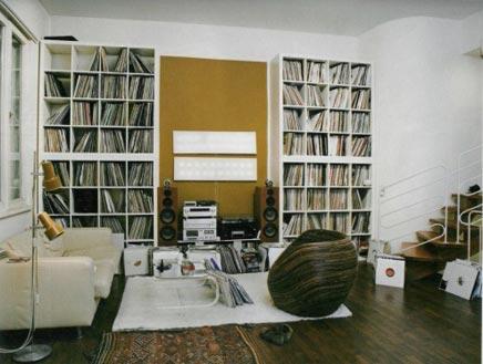 Werkruimte van een DJ  Inrichting-huis.com