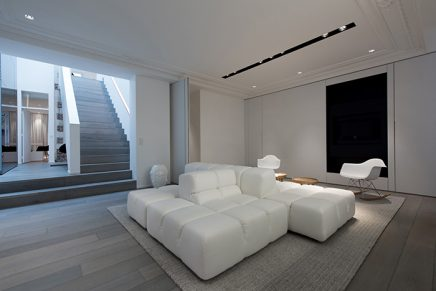 White wash houten vloer