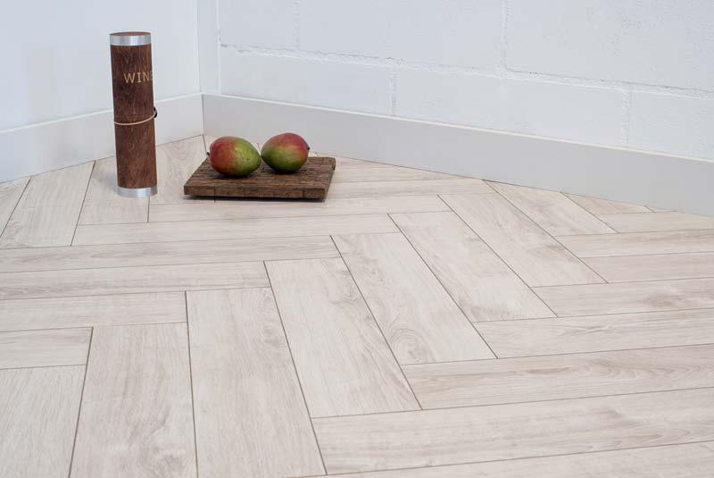 white wash laminaat visgraat vloer