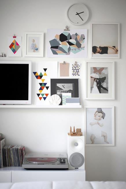 Wit appartement van Susanna & Jussi