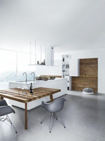 wit en hout in de keuken 5