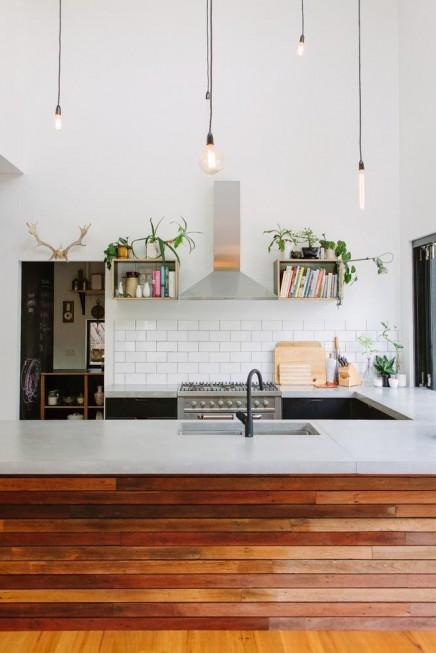 wit en hout in de keuken 8
