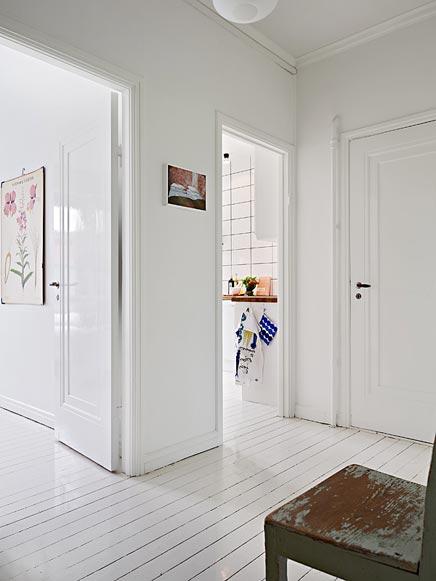 Witte authentieke interieur inrichting uit Zweden  Inrichting-huis ...