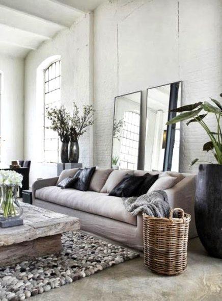 10x witte bakstenen muur inrichting - Bakstenen muur woonkamer ...