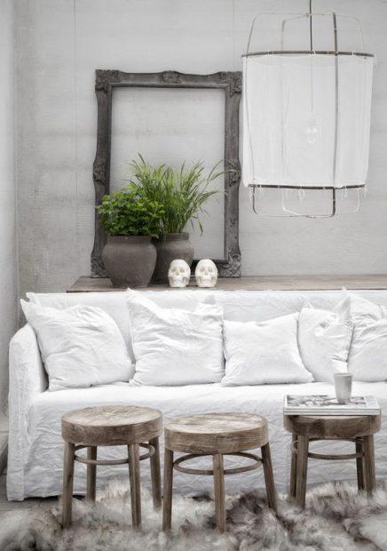 Witte bank | Inrichting-huis.com