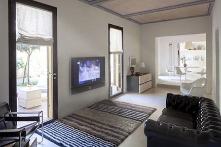 Witte elegante interieur inrichting in Toscane