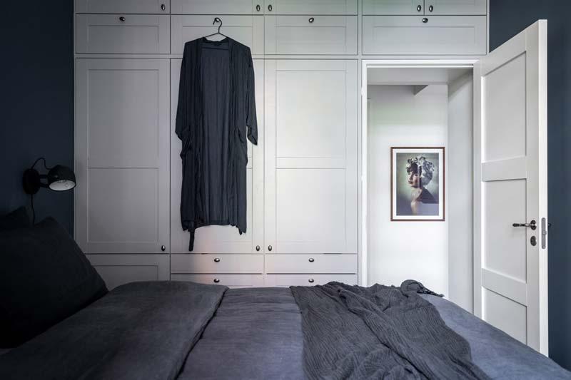 witte inbouwkast slaapkamer