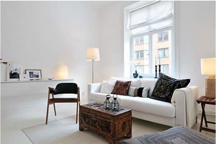 Witte interieur idee n inrichting for Interieur inrichting ideeen