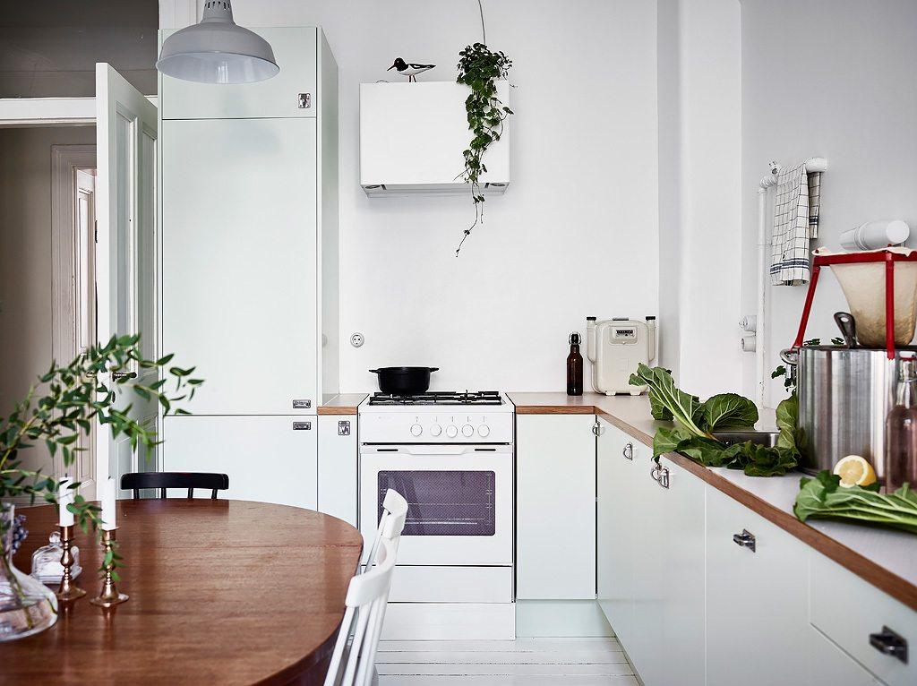 Witte Keuken Sfeer : Witte keuken met een botanische sfeer inrichting huis