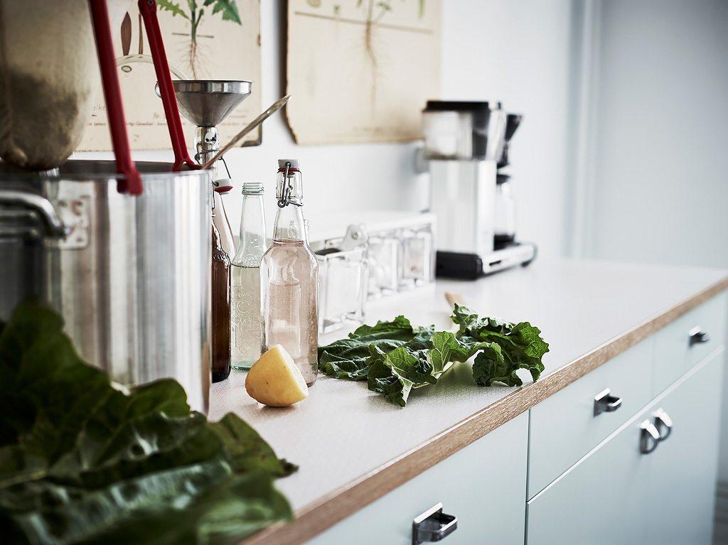 Witte Keuken Sfeer : Witte keuken met een botanische sfeer inrichting huis.com