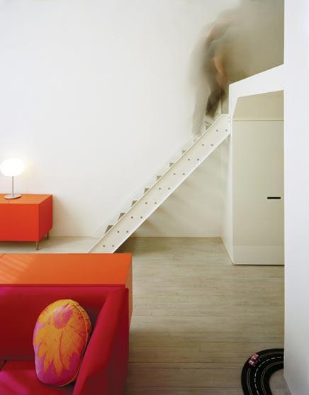 Witte loft door Leeser architecture