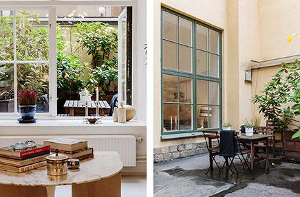 Witte Loft Stockholm : Witte loft in stockholm inrichting huis