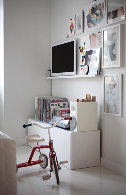 Witte slaapkamer van interieurontwerpster Susanna Vento  Inrichting ...