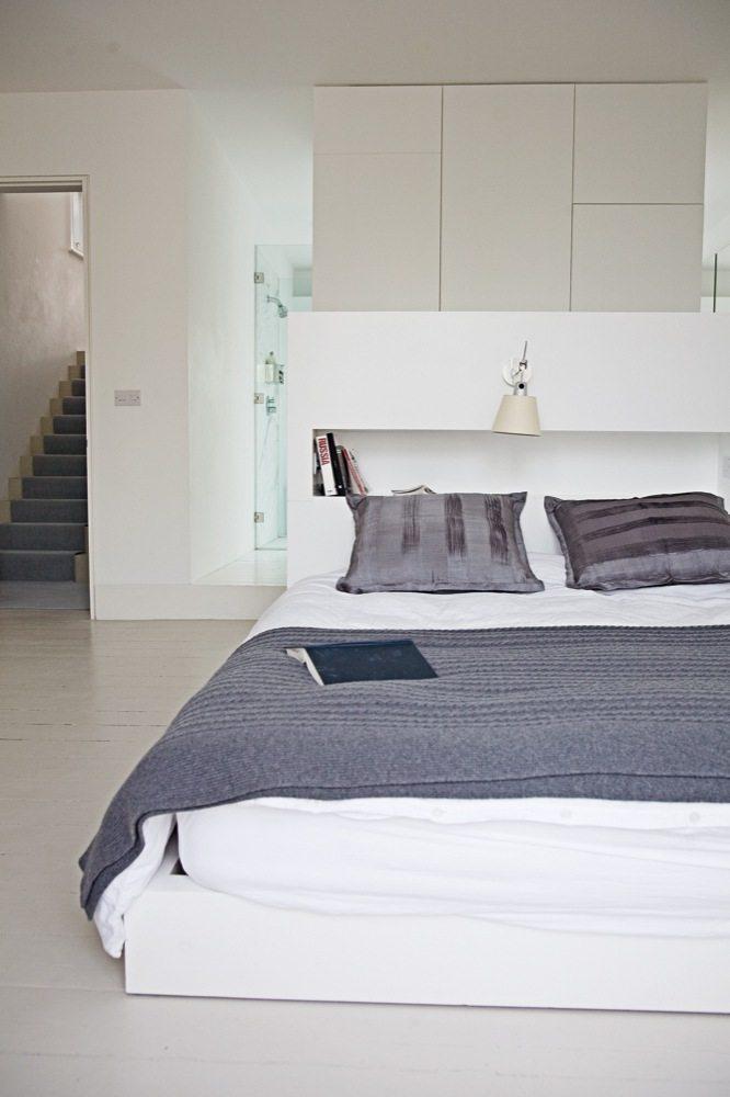 Witte slaapkamer suite van architecte Cathie   Inrichting-huis.com