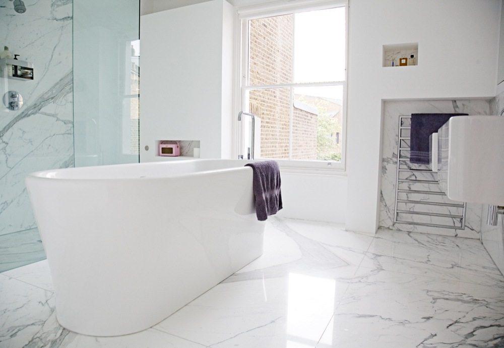 Witte slaapkamer suite van architecte cathie inrichting - Witte hoofdeinde ...