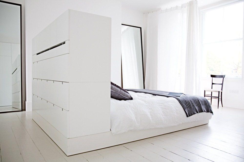 Witte Slaapkamer Suite Van Architecte Cathie Inrichting