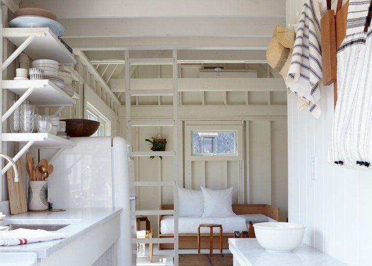 witte smeg koelkast strandhuis