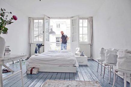 Weiß fröhlich Schlafzimmer