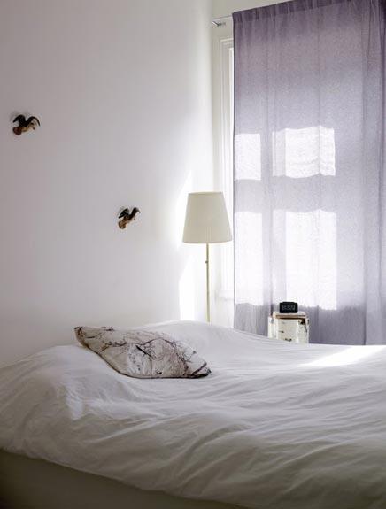 Witte woninginrichting gefotografeerd door Petra Bindel