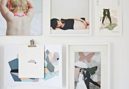 Witte woninginrichting van stylist Susanna Vento