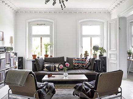 Witte Zweedse Woonkamer : Witte zweedse woonkamer inrichting huis