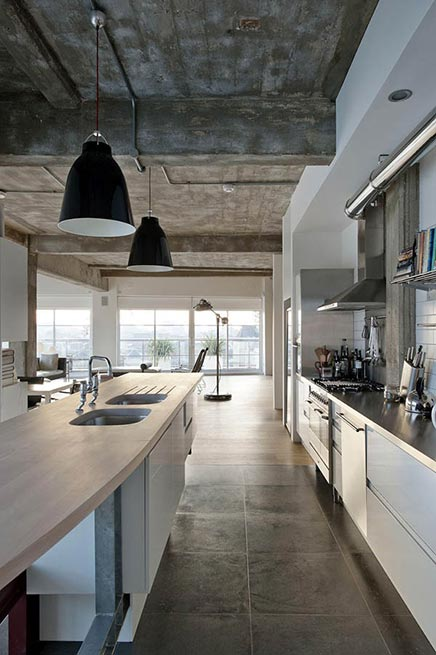 Woninginrichting Industriele Loft In Londen