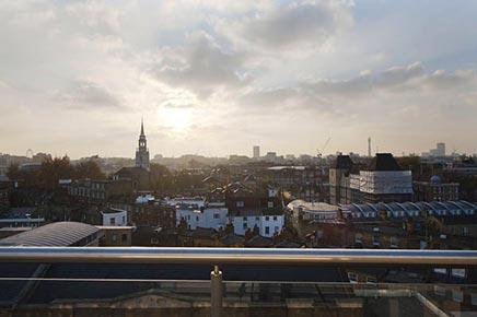 Woninginrichting industriële loft in Londen