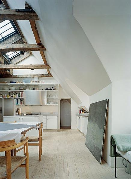 Raumgestaltung mit einer speziellen Küche