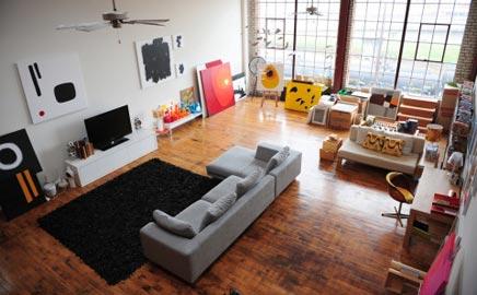 Woninginrichting met een bijzondere woonkeuken | Inrichting-huis.com