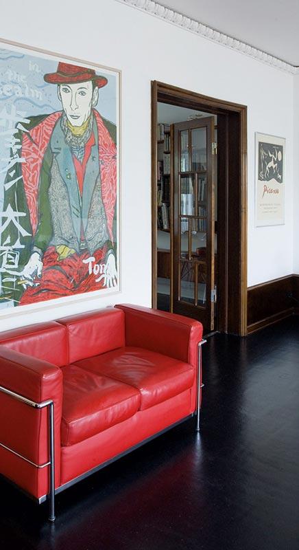 Woninginrichting met designklassiekers inrichting - Bruine panton ...